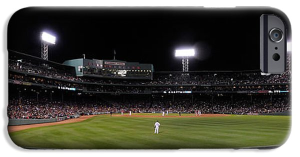 Patriots iPhone Cases - Fenway iPhone Case by Bob Stone