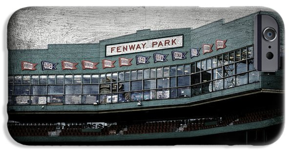 Baseball Stadiums iPhone Cases - Fenway Memories - 1 iPhone Case by Stephen Stookey