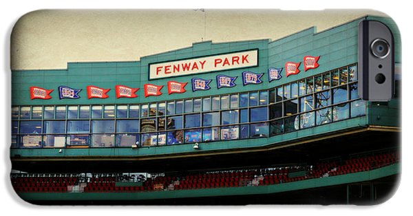 Boston Red Sox iPhone Cases - Fenway Memories - 2 iPhone Case by Stephen Stookey