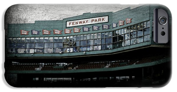 Baseball Stadiums iPhone Cases - Fenway Memories - Clover Edition iPhone Case by Stephen Stookey