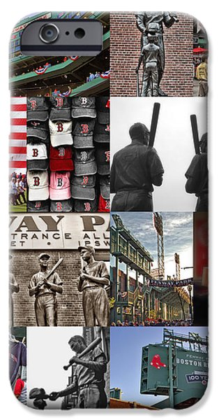 Red Sox Red Sox iPhone Cases - Fenway Memories iPhone Case by Joann Vitali