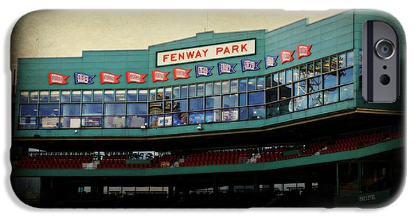 Boston Red Sox iPhone Cases - Fenway Memories - Poster 2 iPhone Case by Stephen Stookey