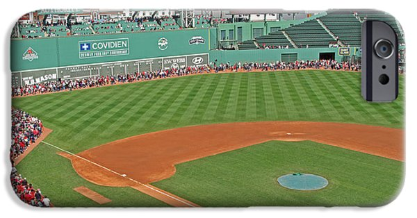 Best Sellers -  - Fenway Park iPhone Cases - Fenway One Hundred Years iPhone Case by Barbara McDevitt