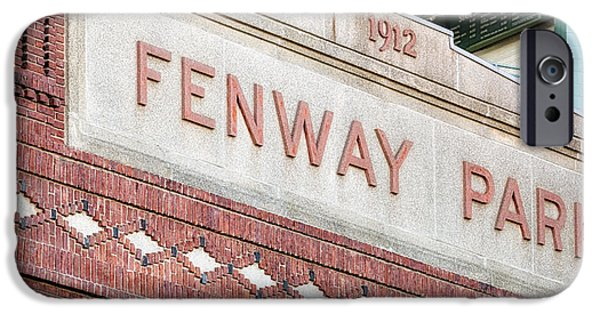 Fenway Park iPhone Cases - Fenway Park 1912 iPhone Case by Susan Candelario