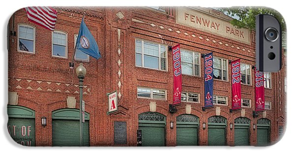Boston Red Sox iPhone Cases - Fenway Park - Best Of Boston iPhone Case by Susan Candelario
