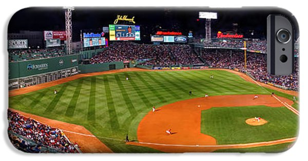 Boston Red Sox iPhone Cases - Fenway Park Boston iPhone Case by Jeff Stallard