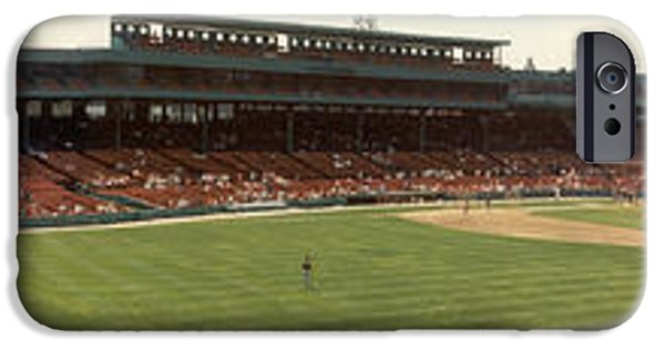Fenway Park iPhone Cases - Fenway Park - Early Version iPhone Case by David Bearden