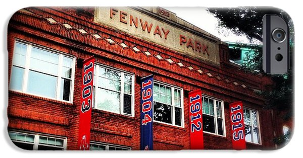 Fenway Park iPhone Cases - Fenway Park in October 2013 iPhone Case by David Stone