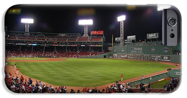 Bosox iPhone Cases - Fenway Park iPhone Case by Mark Wiley
