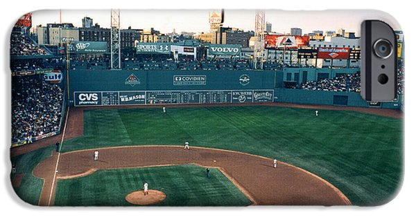 Boston Red Sox iPhone Cases - Fenway Park Photo - Inside View iPhone Case by Horsch Gallery