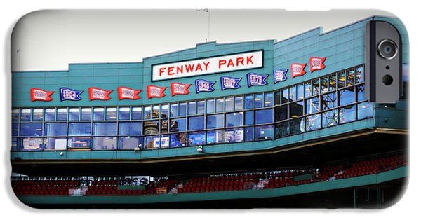 Boston Red Sox iPhone Cases - Fenway Park iPhone Case by Stephen Stookey