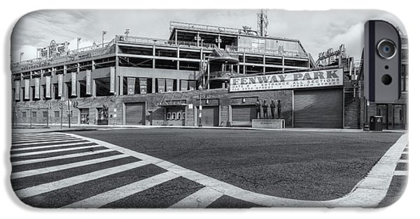 Fenway Park iPhone Cases - Fenway Park V iPhone Case by Clarence Holmes