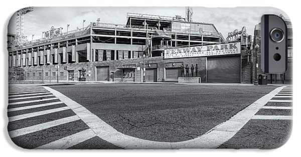 Fenway Park iPhone Cases - Fenway Park VI iPhone Case by Clarence Holmes