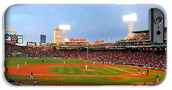 Red Sox iPhone Cases - Fenway iPhone Case by Stephen Bellingham