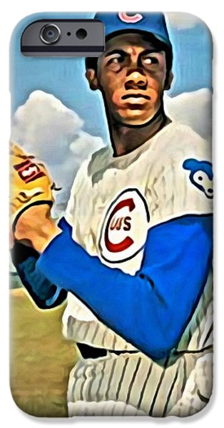 Baseball iPhone Cases - Fergie Jenkins iPhone Case by Florian Rodarte