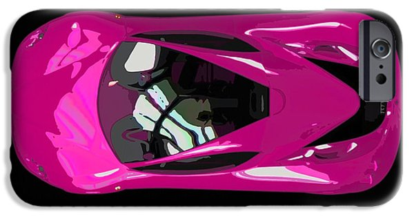 Best Sellers -  - Concept Paintings iPhone Cases - Ferrari 11 iPhone Case by Lanjee Chee