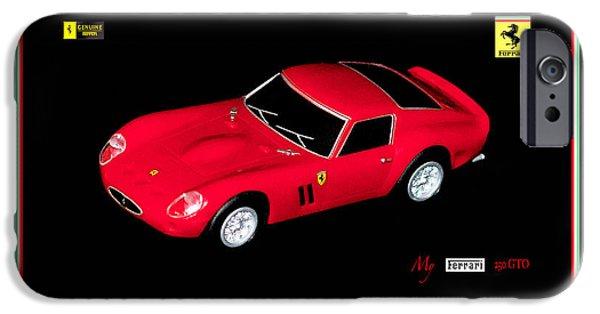Ferrari 250 Gto iPhone Cases - Ferrari 250 GTO iPhone Case by George Rossidis