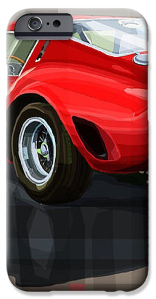 Ferrari 250 GTO iPhone Case by Yuriy Shevchuk