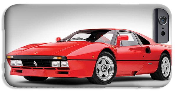 Cars iPhone Cases - Ferrari 288 GTO iPhone Case by Gianfranco Weiss