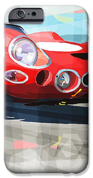 Ferrari 330 GTO 1962 iPhone Case by Yuriy Shevchuk