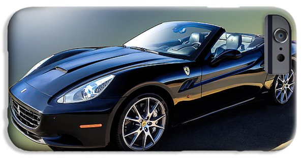 Convertible iPhone Cases - Ferrari California iPhone Case by Douglas Pittman
