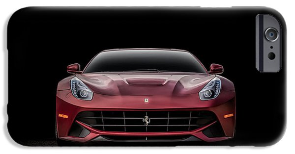 Cave Digital iPhone Cases - Ferrari F12 iPhone Case by Douglas Pittman