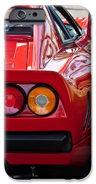 Ferrari Gto iPhone Cases - Ferrari GTO 288 Taillight -0631c iPhone Case by Jill Reger