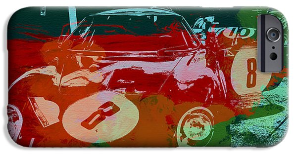 Concept iPhone Cases - Ferrari Laguna Seca Racing iPhone Case by Naxart Studio