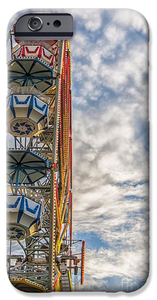 Ferris Wheel iPhone Case by Antony McAulay