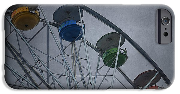 Mechanism iPhone Cases - Ferris Wheel iPhone Case by David Gordon