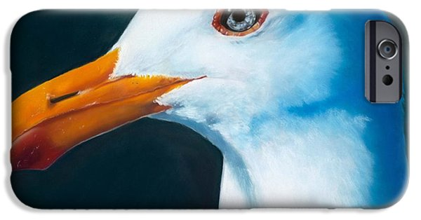 Wild Animals Pastels iPhone Cases - Ferry Tramp iPhone Case by Marie-Claire Dole