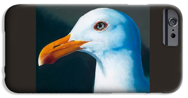 Sea Birds iPhone Cases - Ferry Tramp iPhone Case by Marie-Claire Dole