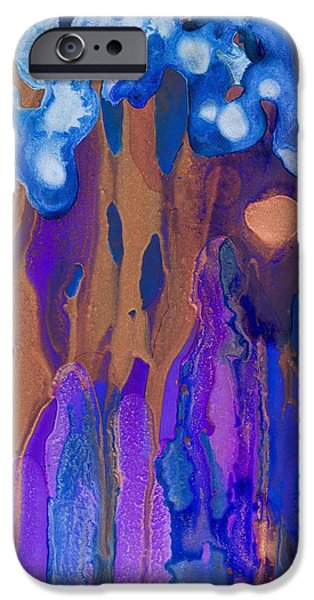 Fertility Paintings iPhone Cases - Fertile Forest iPhone Case by Priya Ghose