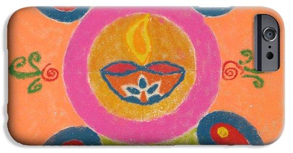 Buy Pastels iPhone Cases - Festival of Deepawali iPhone Case by Sonali Gangane