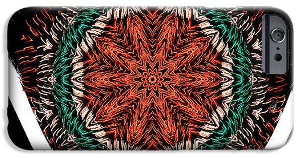 Skewed iPhone Cases - Festivity iPhone Case by Luther   Fine Art