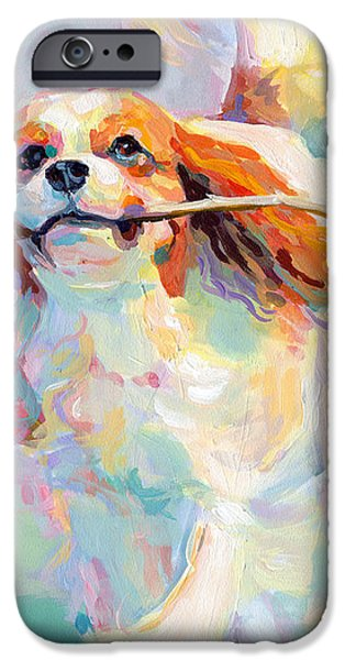 Fiddlesticks iPhone Case by Kimberly Santini