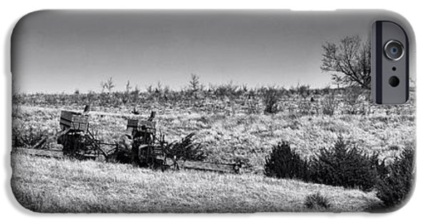 Machinery iPhone Cases - Field of Dreams iPhone Case by Betty Depee
