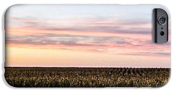 Nebraska iPhone Cases - Fields 2 iPhone Case by Angus Hooper Iii