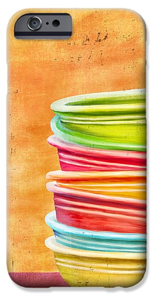 Hattiesburg iPhone Cases - Fiesta 2 iPhone Case by Brenda Bryant
