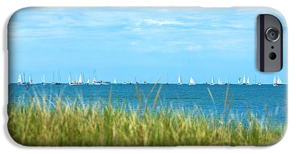 Sailboat iPhone Cases - Figawi Sailboat Race iPhone Case by Diane Diederich