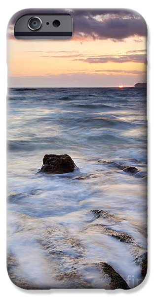 Daybreak iPhone Cases - Filling the Cracks iPhone Case by Mike Dawson