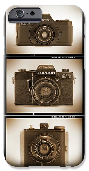 Film Camera Proofs 3 iPhone Case by Mike McGlothlen