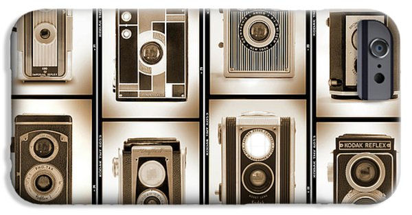 Rangefinder iPhone Cases - Film Camera Proofs 4 iPhone Case by Mike McGlothlen