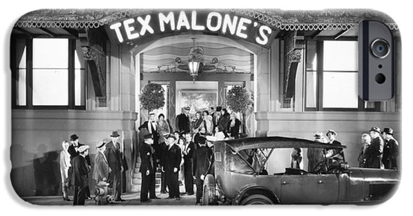 Malone iPhone Cases - Film Still: Nightclub, 1929 iPhone Case by Granger