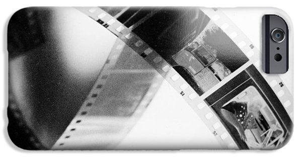 Animation iPhone Cases - Film strip iPhone Case by Toppart Sweden
