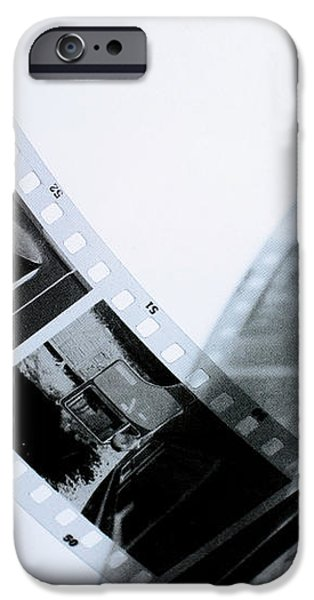 Film strips iPhone Case by Toppart Sweden