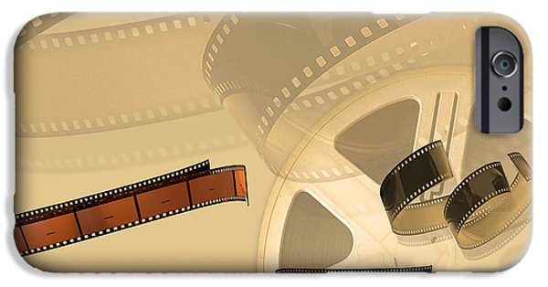 Multimedia iPhone Cases - Films iPhone Case by Tina M Wenger
