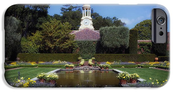 Weathervane Photographs iPhone Cases - Filoli Gardens - California iPhone Case by Mountain Dreams