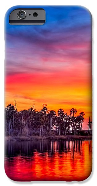 Final Glow iPhone Case by Marvin Spates