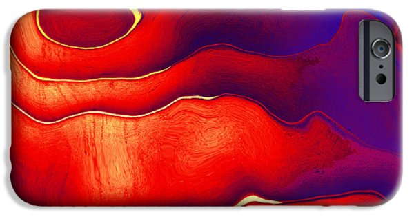 Abstract Digital iPhone Cases - Final Question iPhone Case by Wendy J St Christopher